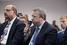 Председатель совета директоров группы ИЛИМ Захар Смушкин (справа)
