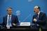Президент Сбербанка Герман Греф и глава Дагестана Рамазан Абдулатипов
