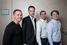 Команда проекта Vide со своим ментором Максимом Браверманом (на фото второй слева)