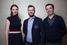 Команда проекта Crocodie со своим ментором Юрием Митиным (в центре)