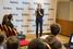 Член жюри Елена Шифрина — победитель конкурса «Школа молодого миллиардера» в 2013 году, основатель проекта BioFoodLab