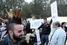 Акция протеста перед президентским дворцом в Никосии