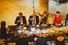 Сидят спиной: Татьяна Мрдуляш, Александр Николаев, Роман Троценко; сидят лицом: Зельфира Трегулова, Улан Илишкин, Марк Гарбер, Алена Долецкая, Катерина Шнайдер