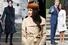 Меган Маркл во время визита в Кардифф, январь 2018 года;Меган Маркл нарождественскойслужбе в Сандрингеме, декабрь 2017 года; Меган Маркл и Принц Гарри
