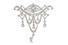 Корсажное украшение, Tiffany & Co., золото, платина, бриллианты, 1904–1915