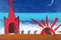 Александр Петрелли. «Горе! Горе! Крокодил солнце в небе проглотил», £5 000 – 5 500