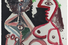 Пабло Пикассо «Флейтист и обнаженная женщина»