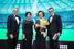 Олег Хусаенов (слева), Международный автомобильный холдинг «Атлант-М», Ольга Булатова, EY, Наталия Галкина, АО «НейроТренд», и Михаил Романов, EY.