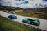 Два Porsche GT3 на швейцарских серпантинах