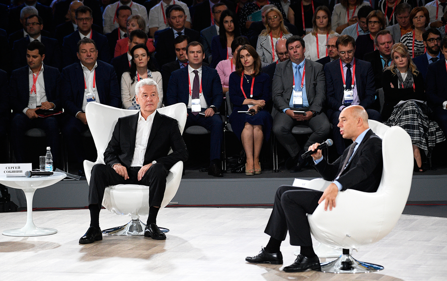 Собянин иСилуанов договорились осохранении бюджетной политики столицы