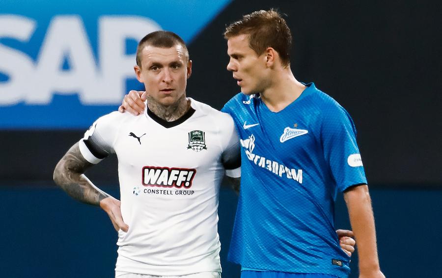 Мамаев и Кокорин широко отметили 10-летие дружбы
