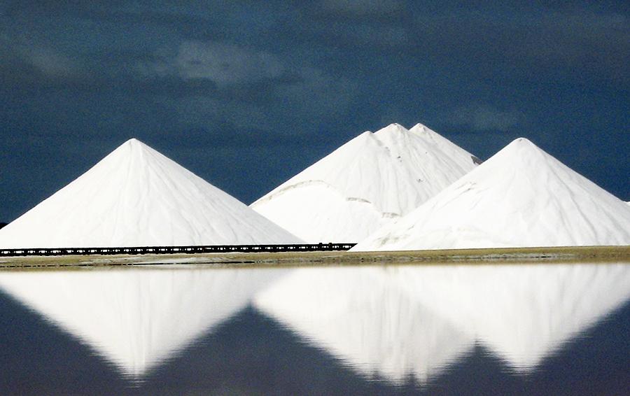 Соляные запасы Cargill на острове Бонэйр