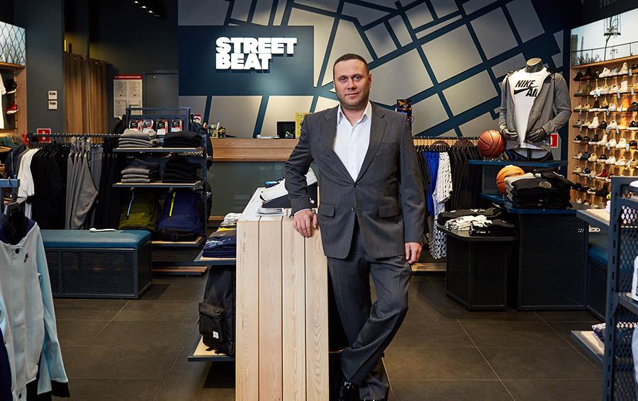 Бизнес-модель Street Beat Филипп Генс (на фото) и Тихон Смыков позаимствовали у американского спортивного ритейлера Foot Locker