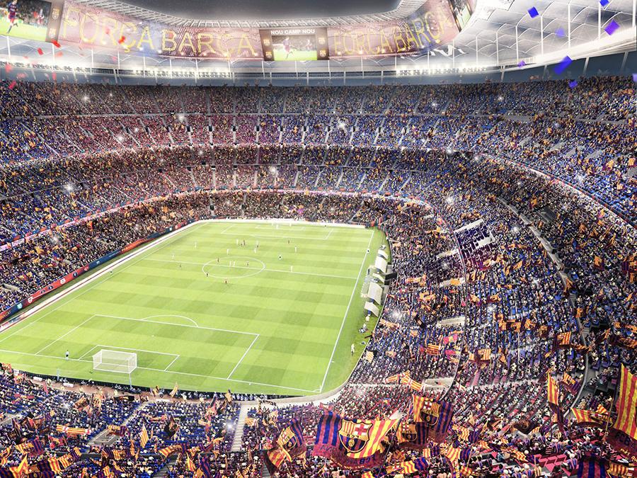 Новая версия «Камп Ноу» будет вмещать 105000 зрителей. Реконструкция должна уложиться в €600 млн