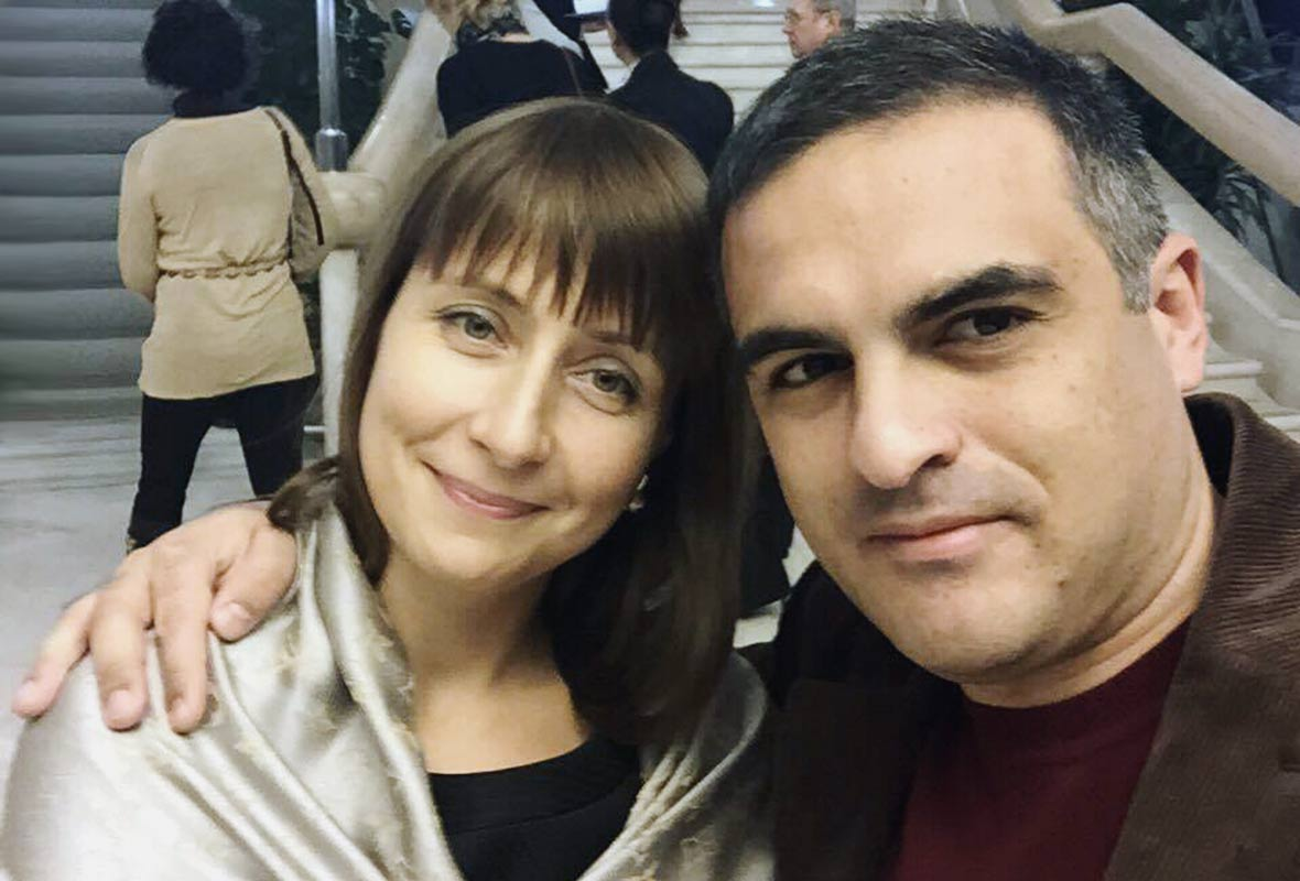 Анна Шкирина и Левон Оганесян