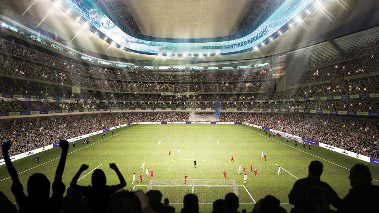 На обновленном «Сантьяго Бернабеу» добавится 3000 VIP-мест, но общая вместимость останется прежней