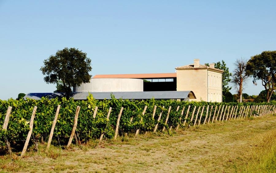 Виноградорское хозяйство La Grace Dieu Des Prieurs.
