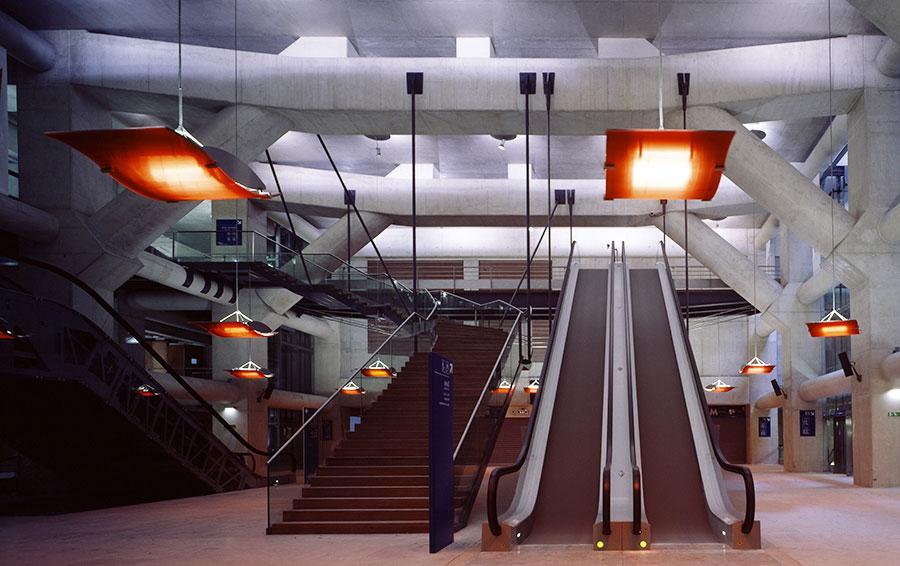 Станция «Осман — Сен-Лазар» у одноименного вокзала