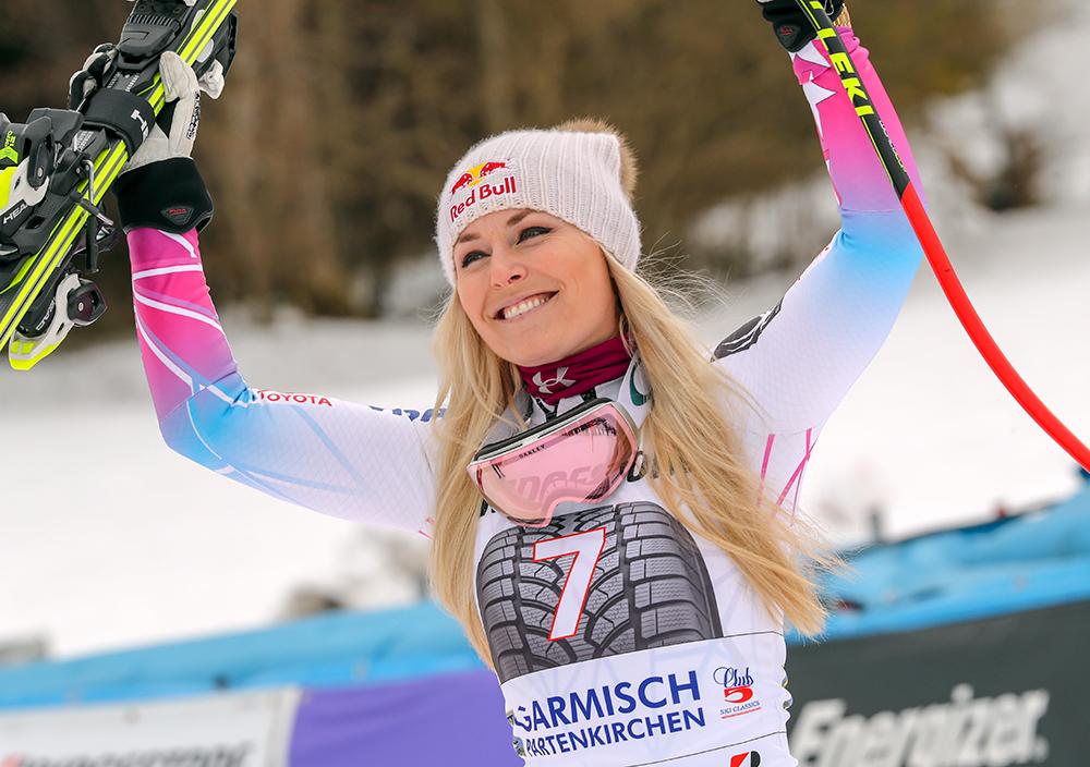 Горнолыжница Линдси Вонн – успешная спортменка, эффектная девушка и сильный бренд