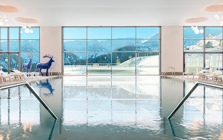 Просторный SPA-комплекс от французского бренда Carita занимает 600 кв.м.