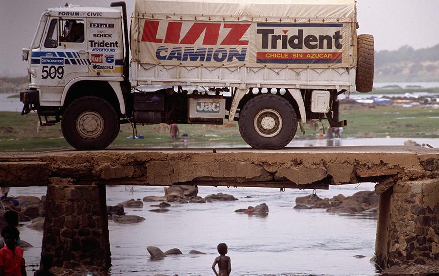 12-й Ралли-марафон «Париж-Дакар» в 1990 году.