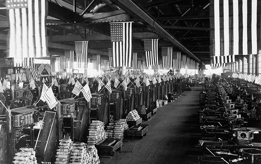 Bethlehem Steel Company, Pennsylvania, ca. 1918.