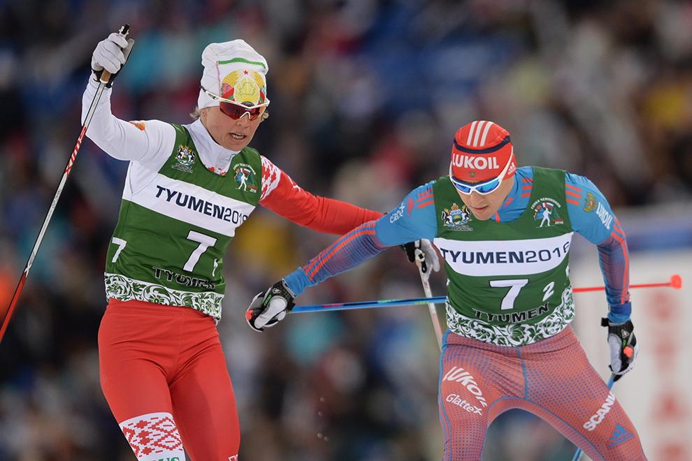 Еще прошлой весной Александр Легков (справа) выступал на Гонке чемпионов в Тюмени. В этом сезоне и Тюмень, и Легков были лишены большого спорта