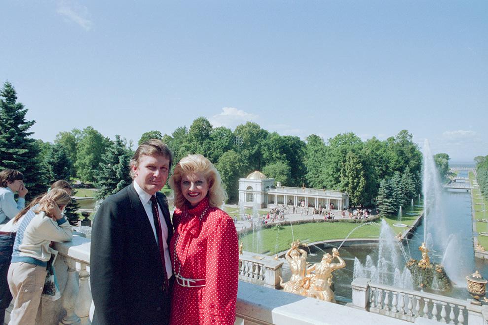 Три визита за 30 лет. Что делал молодой Трамп в СССР. Фото | Миллиардеры | Forbes.ru
