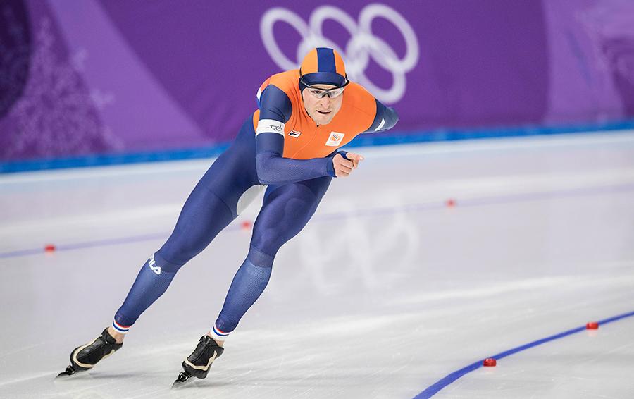 Голландец Свен Крамер стал в Пхенчхане стал самым титулованным конькобежцем в истории Олимпиад — теперь у него 8 олимпийских наград