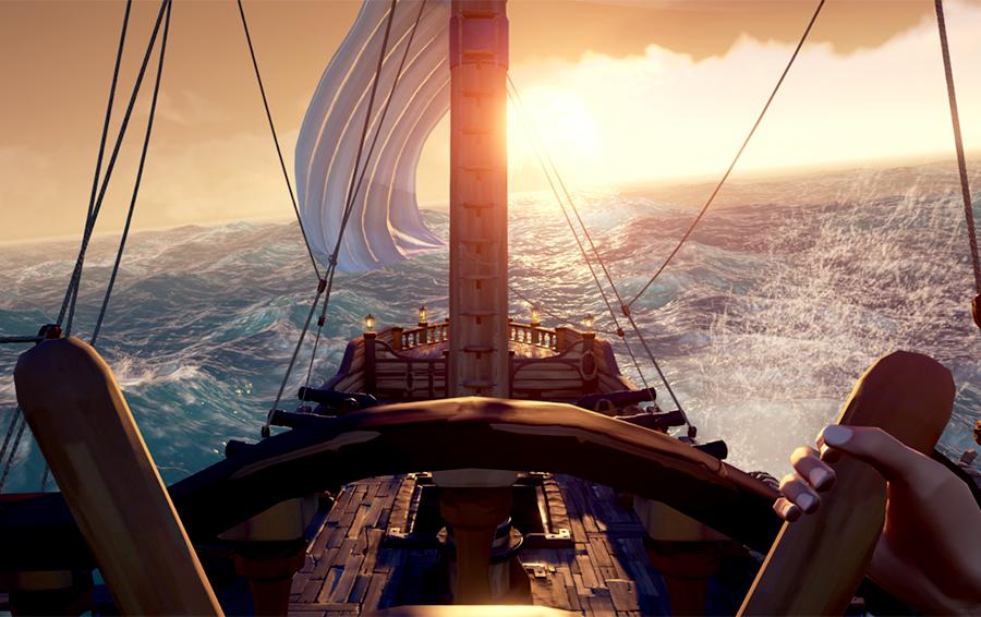 Кадр из игры «Sea of Thieves» для Xbox One X