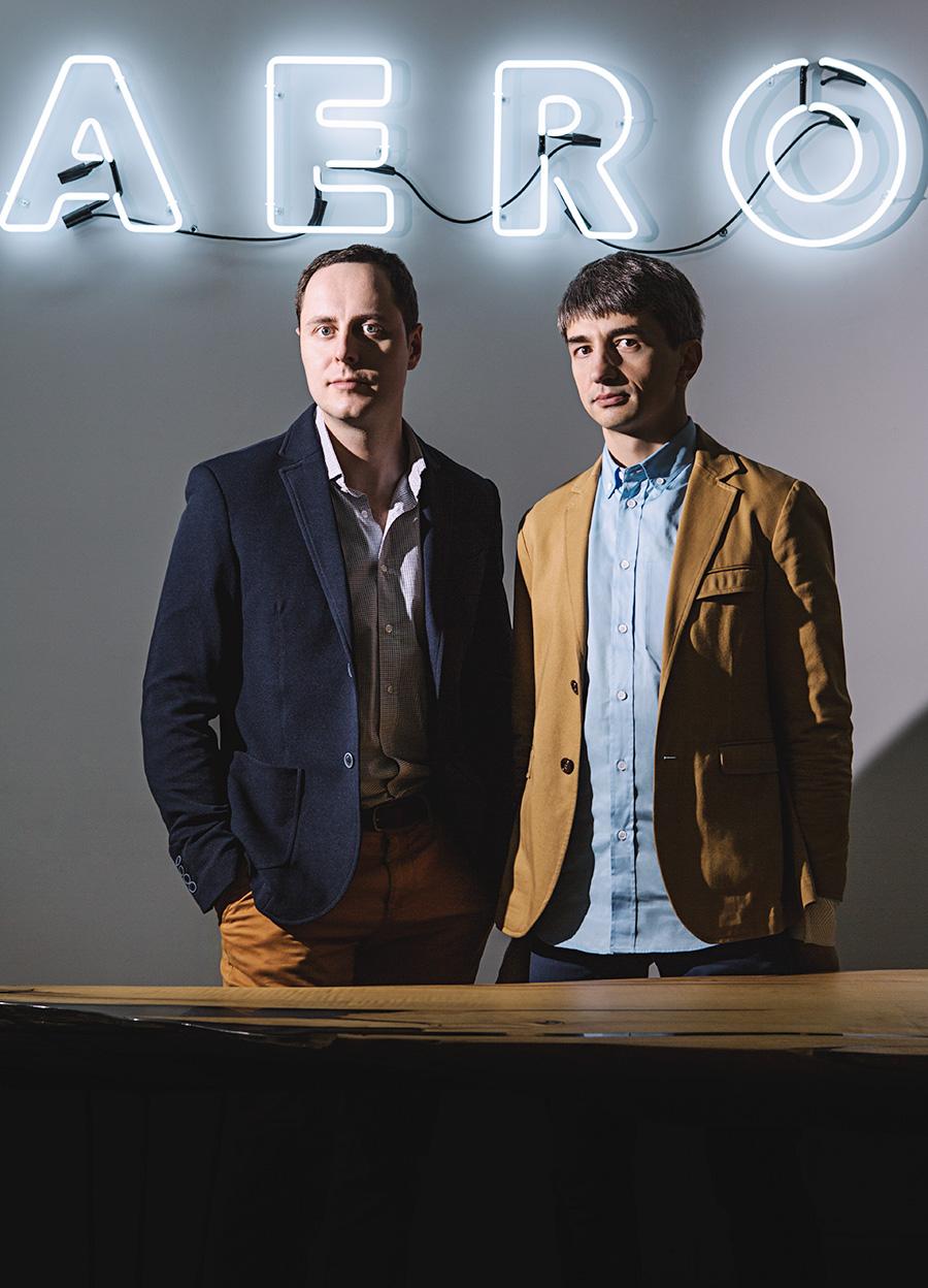 Владимир Синельников (справа) и Виктор Матыцин сосредоточились на e-commerce клиентах после успешного запуска интернет-магазина «Евросети»