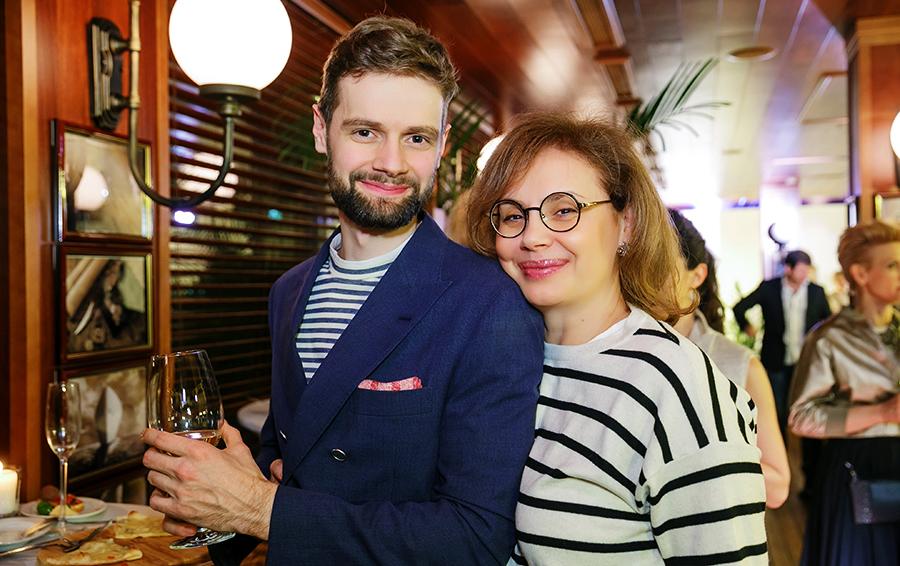 Дмитрий (слева) и Виктория Саава