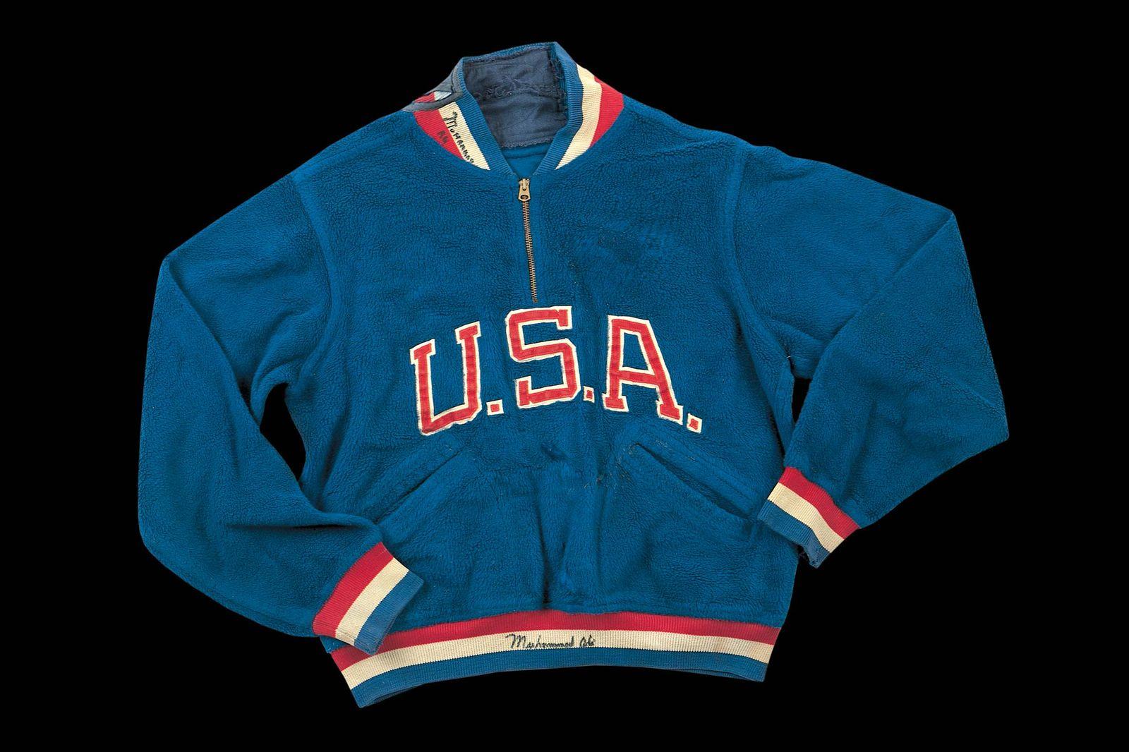 Олимпийская куртка Мохаммеда Али 1960 года