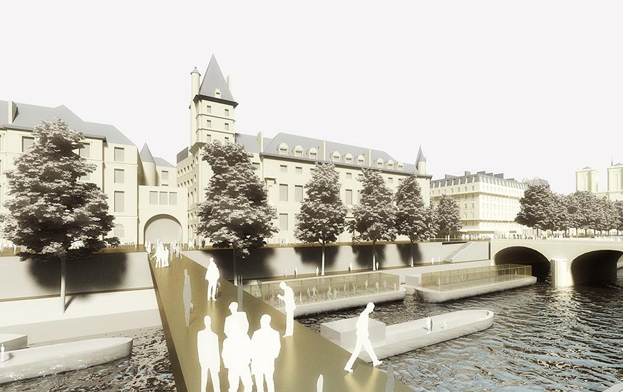 Призрачный остров. Власти Парижа хотят вернуть жизнь острову Ситэ