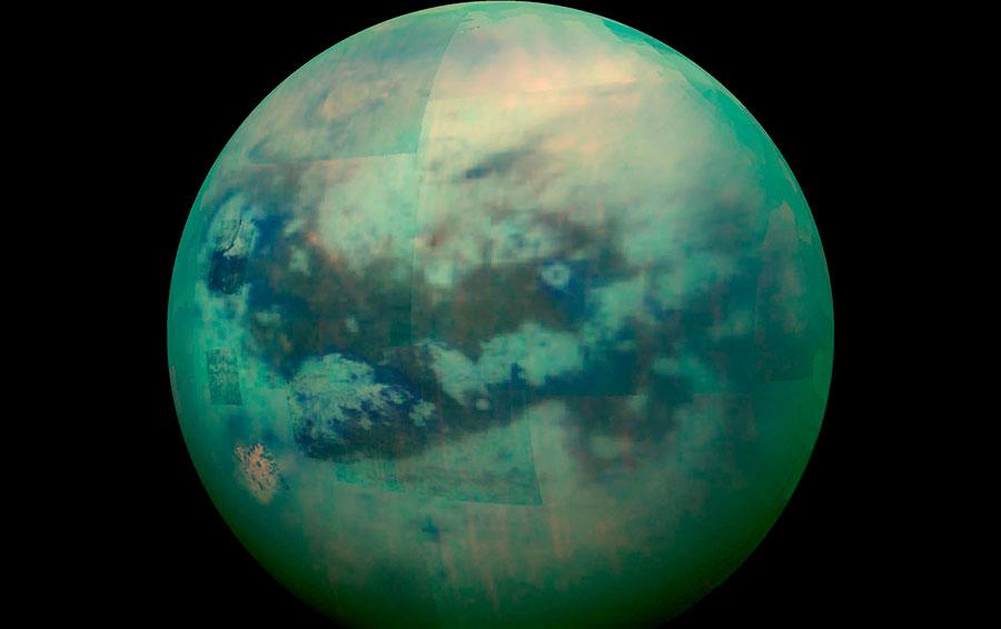 Спутник Юпитера — Титан