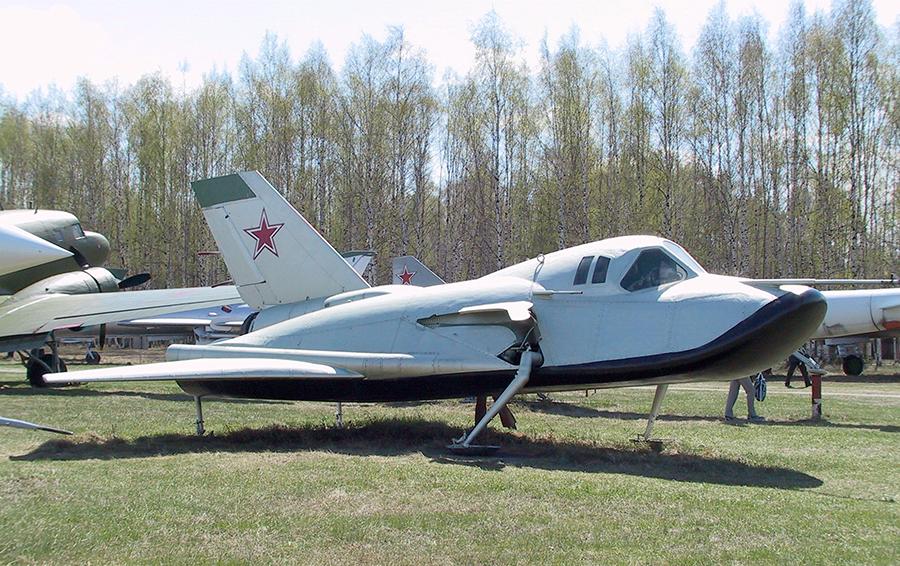 Самолет-аналог «105.11» сегодня занимает место в Музее ВВС в подмосковном поселке Монино/Из архива Вадима Лукашевича
