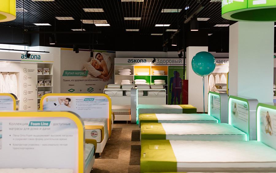 В год «Аскона» продает 250 000 подушек, 30 000 одеял и 4 000 комплектов постельного белья
