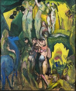 Борис Анисфельд, «Суд Париса», 1912.