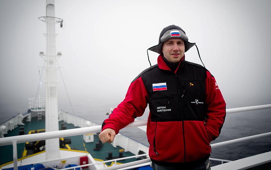 Артем Аветисян ищет новые возможности для бизнеса в Антарктиде.