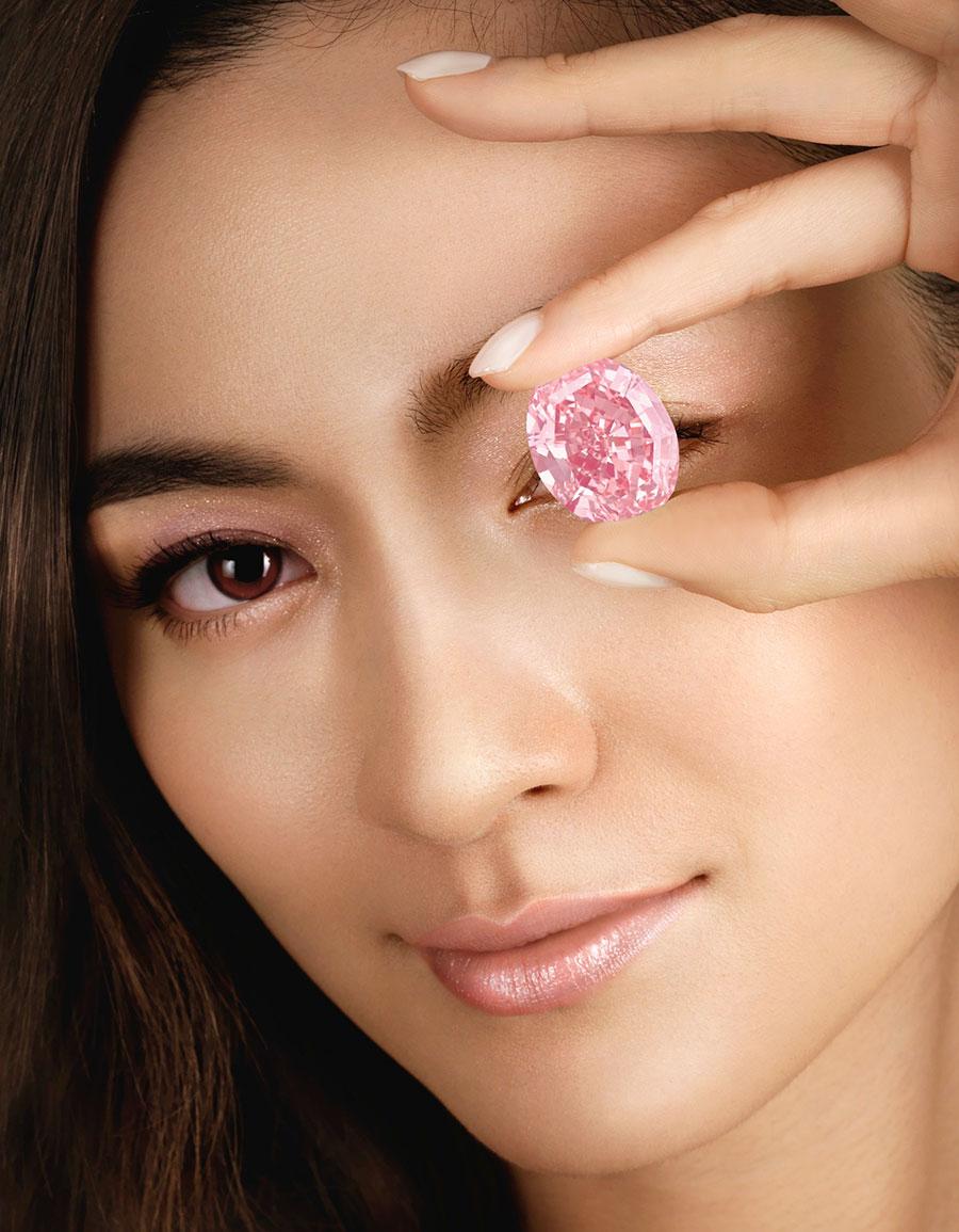 Бриллиант «Розовая звезда»