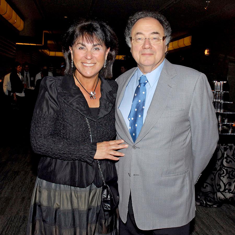 Бернард Шерман и его жена Хани