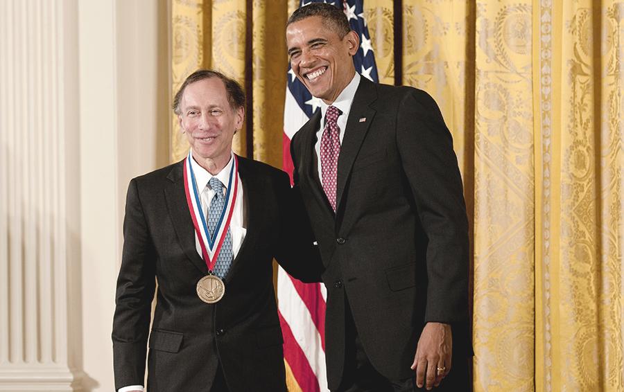 Боб Лангер и Барак Обама