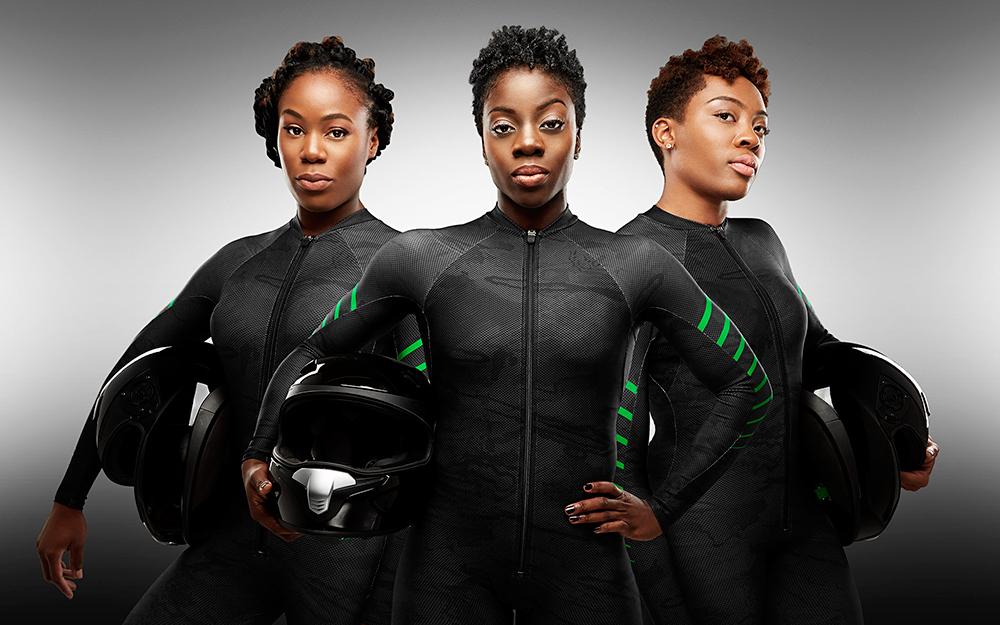 Такие яркие девчонки из Нигериии с такой яркой историей не могли не понравиться спонсорам