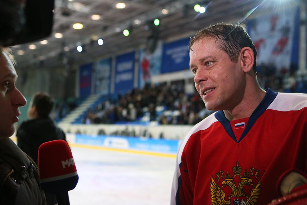 Заслуженный мастер спорта СССР и России Павел Буре