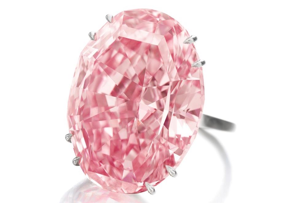 Розовая звезда