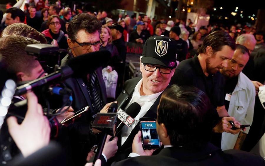 Владелец «Вегаса» миллиардер Билл Фоли (у него 70% клуба) убежден в перспективности своих инвестиций в хоккей