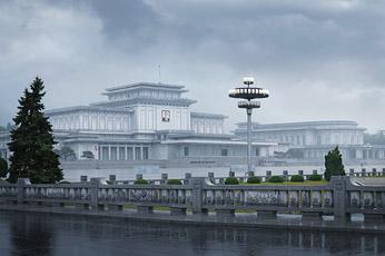 Кымсусанский мемориальный комплекс (Пхеньян, КНДР)