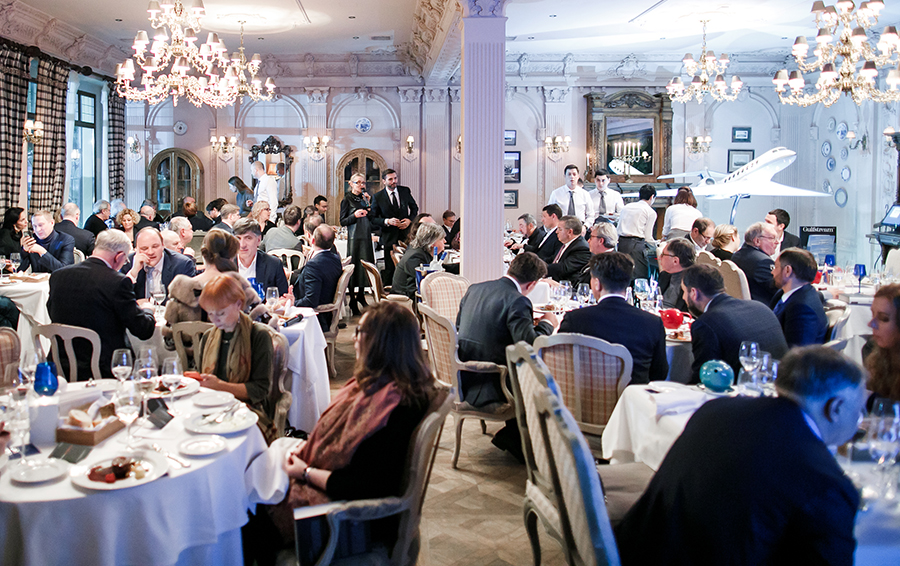 Forbes Special Dinner по случаю выхода книги Петра Авена «Время Березовского»