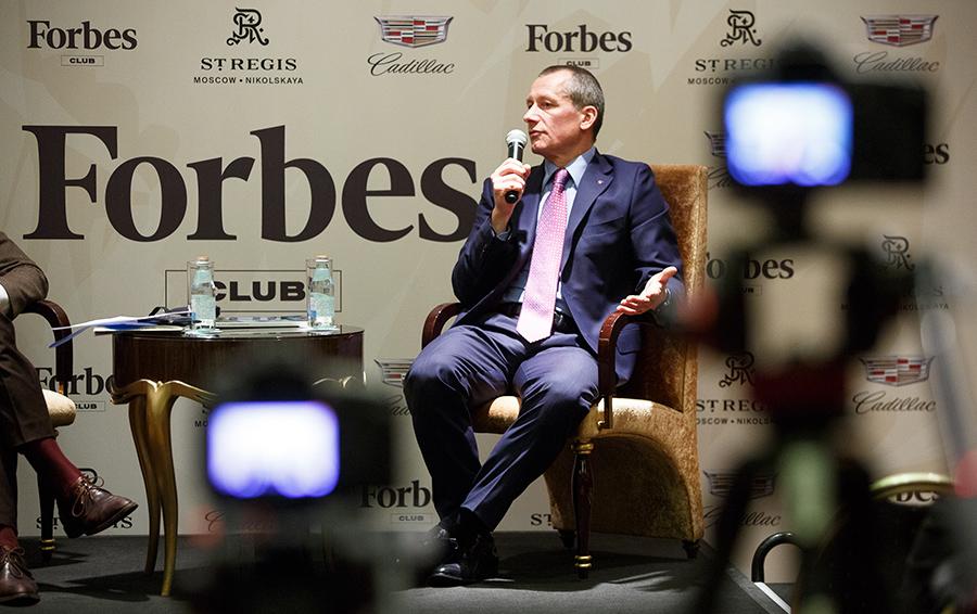 Встреча Forbes Club с Андреем Шароновым