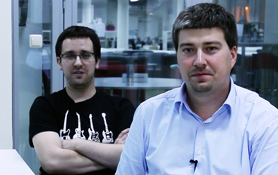 Глеб Кривовязь (слева) и Антон Якубенко